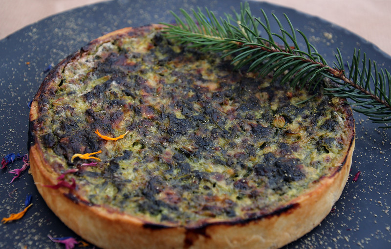 Switzerland, Pays-d'Enhaut, Vegetable Tarte, Hotel Valrose