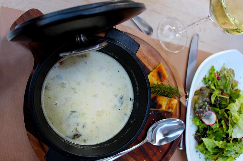 Switzerland, Rougement & Swiss Alps, Hotel Valrose, Broccoli Soup