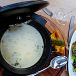 Switzerland, Rougement & Swiss Alps, Hotel Valrose, Broccoli Soup
