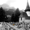 Switzerland, Pays-d'Enhaut, Rougemont Cemetery