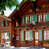 Switzerland, Pays-d'Enhaut, Rougement, Terrosse Chalet