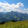 Switzerland, Pays-d'Enhaut, Mountain Panorama
