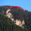 Switzerland, Pays-d'Enhaut, Rougemont, Tandem Parasailing