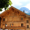 Switzerland, Pays-d'Enhaut, Rougement, Decorative Chalets