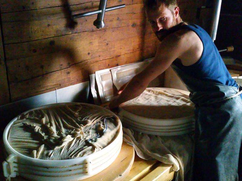 Switzerland, Pays-d'Enhaut, Local Cheesemaker, Rodomond