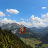 Switzerland, Swiss Flag, Mountaintop, Jardin des Monts