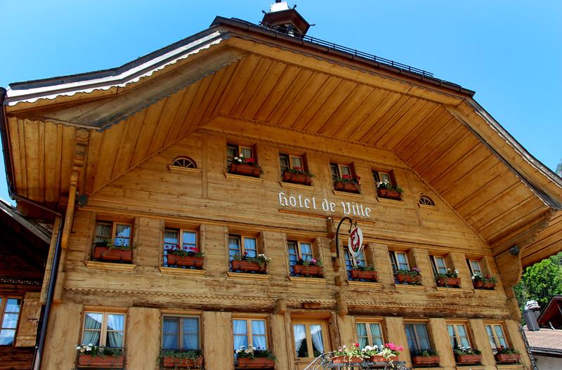 Switzerland, Rougement & Swiss Alps, Rossiniere