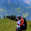 Switzerland, Mountain View near Gstaad, Lovers' Embrace
