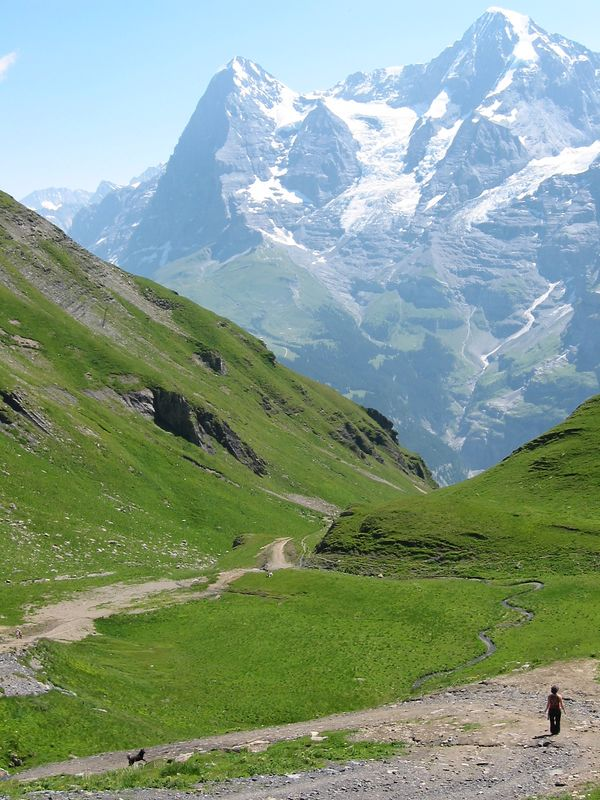 Eiger and Moench