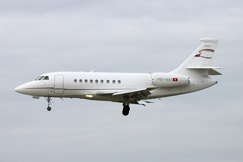 HB-IAU Dassault Falcon 2000EX c/n 14 Zurich/LSZH/ZRH 08-09-17