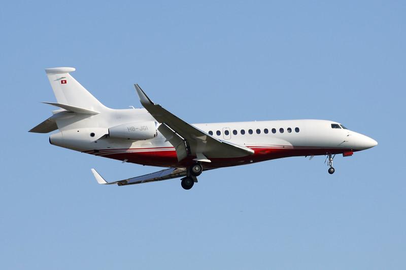 HB-JGI Dassault Falcon 7X c/n 67 Paris-Le Bourget/LFPB/LBG 10-06-15