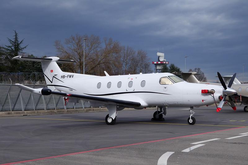 HB-FWV Pilatus PC-12-47E c/n 1416 Geneva/LSGG/GVA 15-02-14