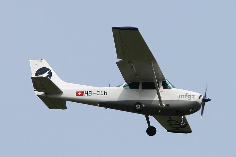 HB-CLH Cessna 172P c/n 172-74459 Zurich/LSZH/ZRH 08-09-17