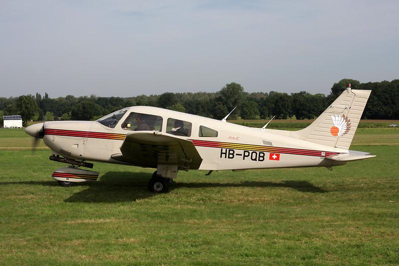 HB-PQB Piper PA-28-181 Archer II c/n 2890073 Schaffen-Diest/EBDT 12-08-12