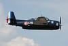HB-RDG (319/4.F-6) Grumman TBM-3E Avenger c/n 3381 Grenoble-St.Geoirs/LFLS/GNB 22-05-11