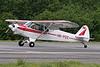 HB-POZ Piper PA-18-150 Super Cub c/n 18-8877 Megeve/LFHM/MVV 10-06-07