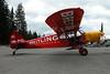 HB-PIC Piper PA-18-150 Super Cub c/n 18-8309025 Megeve/LFHM/MVV 23-09-04