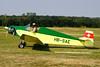 HB-SAE Jodel D.9 Bebe c/n AB.11 Schaffen-Diest/EBDT 11-08-12