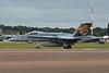 "J-5011 McDonnell-Douglas F/A-18C Hornet ""Swiss Air Force"" c/n SFC-11 Fairford/EGVA/FFD 22-07-19 ""Tiger scheme"""