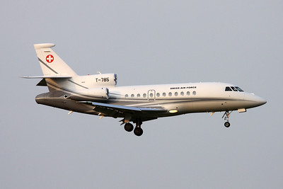 "T-785 Dassault Falcon 900EX EASy ""Swiss Air Force"" c/n 195 Zurich/LSZH/ZRH 08-09-17"