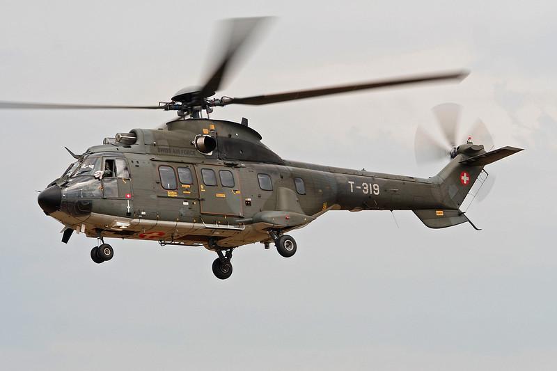 """T-319 Aerospatiale AS.332M1 TH-89 Super Puma """"Swiss Air Force"""" c/n 2343 Valence/LFLU/VAF 24-06-06"""