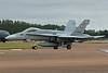 """J-5012 McDonnell-Douglas F/A-18C Hornet """"Swiss Air Force"""" c/n SFC-12 Fairford/EGVA/FFD 22-07-19"""
