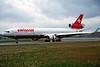 HB-IWO McDonnell-Douglas MD-11 c/n 48540 Zurich/LSZH/ZRH 06-04-97 (35mm slide)