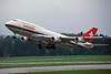 HB-IGE Boeing 747-357 c/n 22995 Zurich/LSZH/ZRH 06-04-97 (35mm slide)