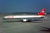 HB-IWK McDonnell-Douglas MD-11c/n 48455 Geneva/LSGG/GVA 09-03-96 (35mm slide)