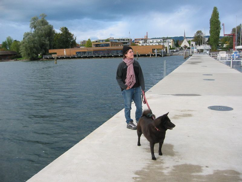 Terri and Coco in Zug