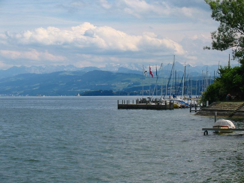 Thalwil lakefront