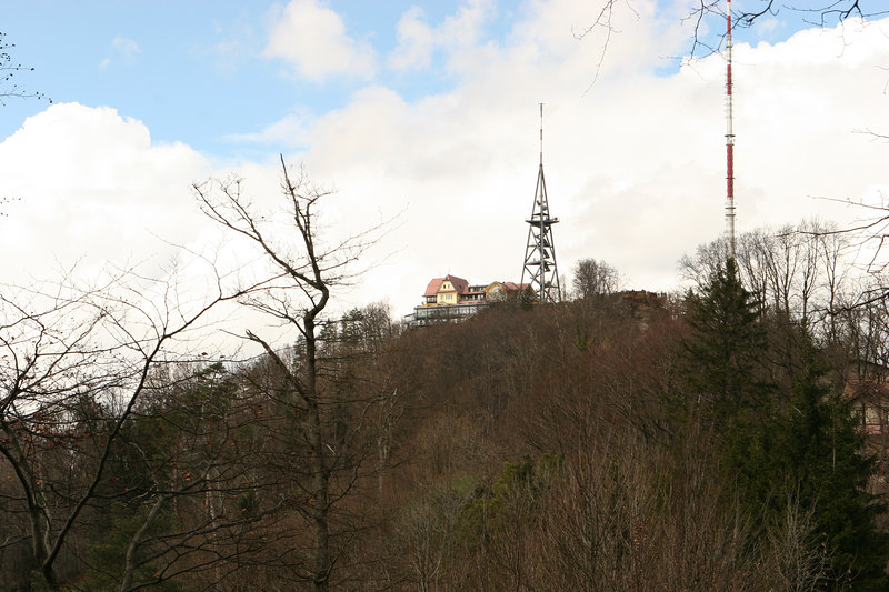 Tower atop Uetliberg, Zurich