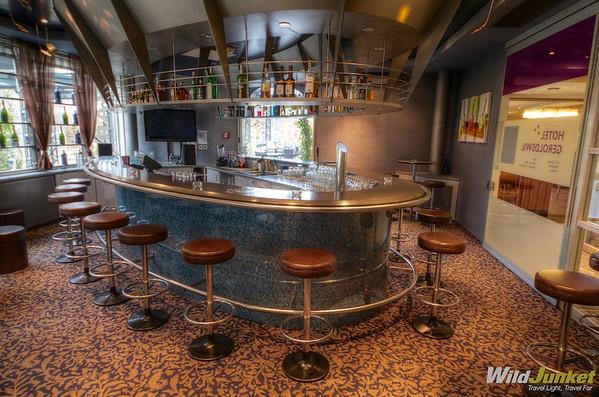 The bar at Geroldswil Hotel