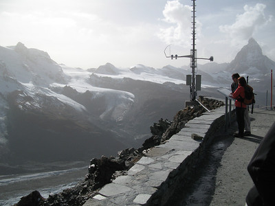 Breithorngletscher and Theodulgletscher from Gornergrat