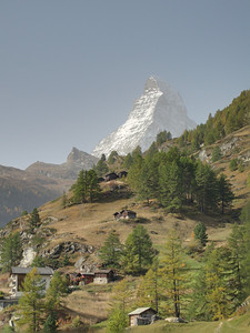 Enfuse photo of the matterhorn taken with multi exposures