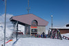 Gondola terminus, Rothorn Paradise, 3103 meters.