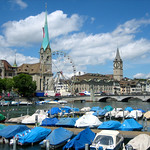 The River Limmat – Zurich, Switzerland – Photo