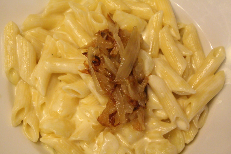 Switzerland, Zurich, Zeughauskeller, Traditional Swiss Pasta Dish