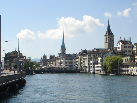 Limmat River, Zurich - Switzerland