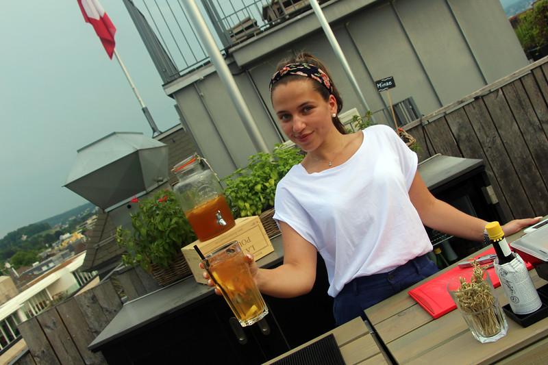 Switzerland, Zurich, Hotel Ambassador, Rooftop Bar