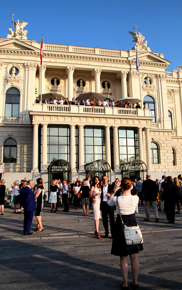 Switzerland, Zurich, Opera House, Gala