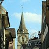 Switzerland, Zurich, St. Peter's Church Clock