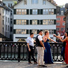 Switzerland, Zurich, Old Town, Wedding Party