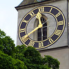 Switzerland, Zurich, St. Peter's Clock