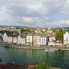 Switzerland, Zurich, Panorama from Lindenhof