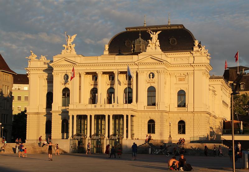 Switzerland, Zurich, Opera House /Theatre