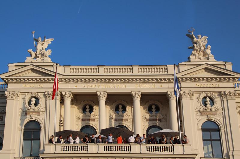 Switzerland, Zurich, Opera House