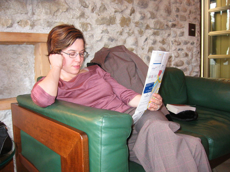 Terri at the Widder in Zurich, 2003