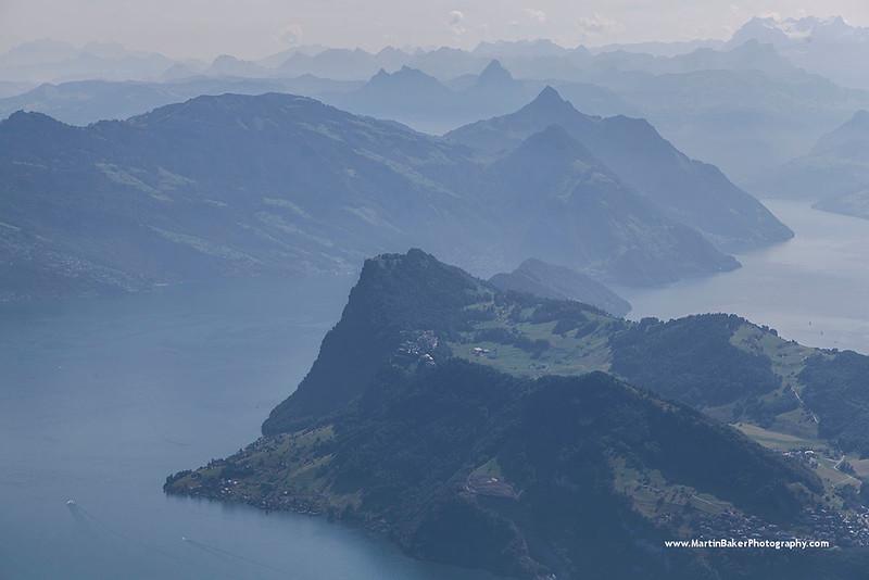 Lake Lucerne, Lucerne, Switzerland.