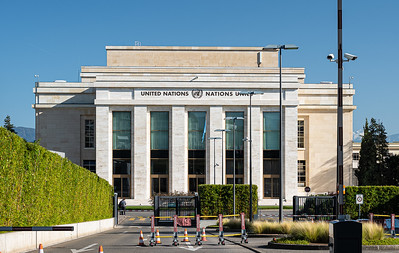 Palais des Nations now UN Office at Geneva